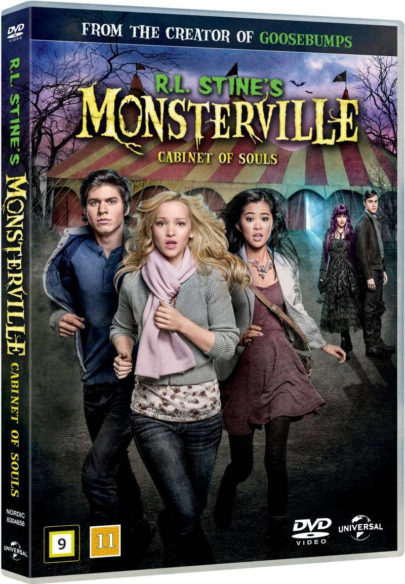 R.l. Stines Monsterville - The Cabinet Of Souls - DVD - Film