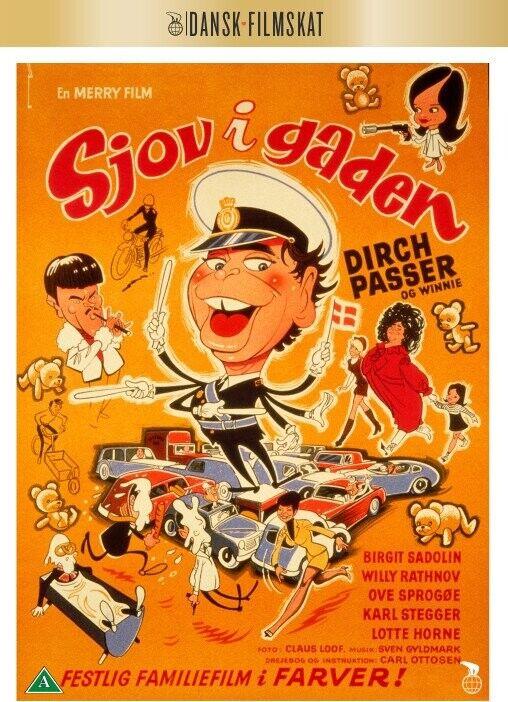 Sjov I Gaden - DVD - Film