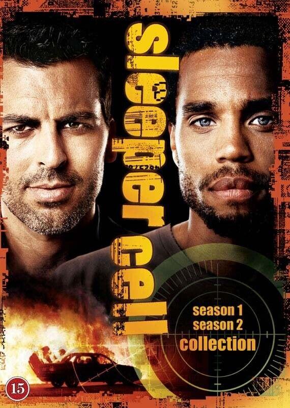 Sleeper Cell - Den Komplette Serie - DVD - Tv-serie