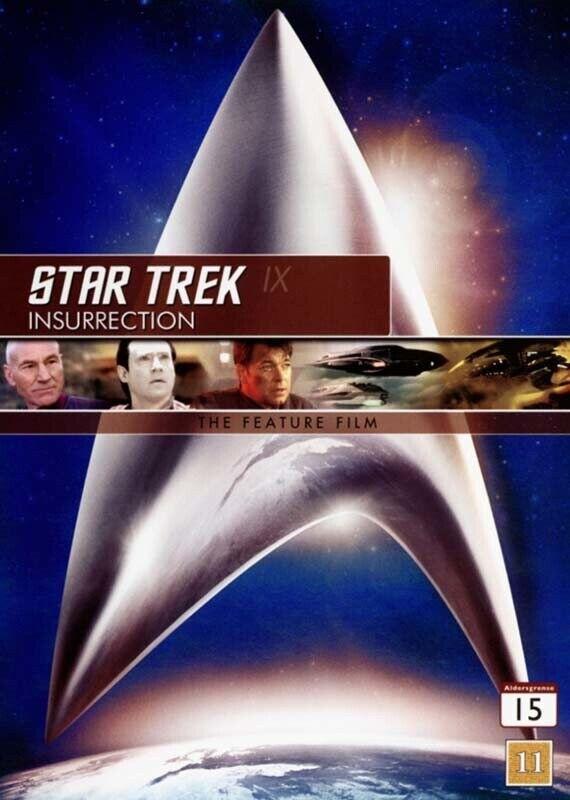 Star Trek 9 - Insurrection - DVD - Film
