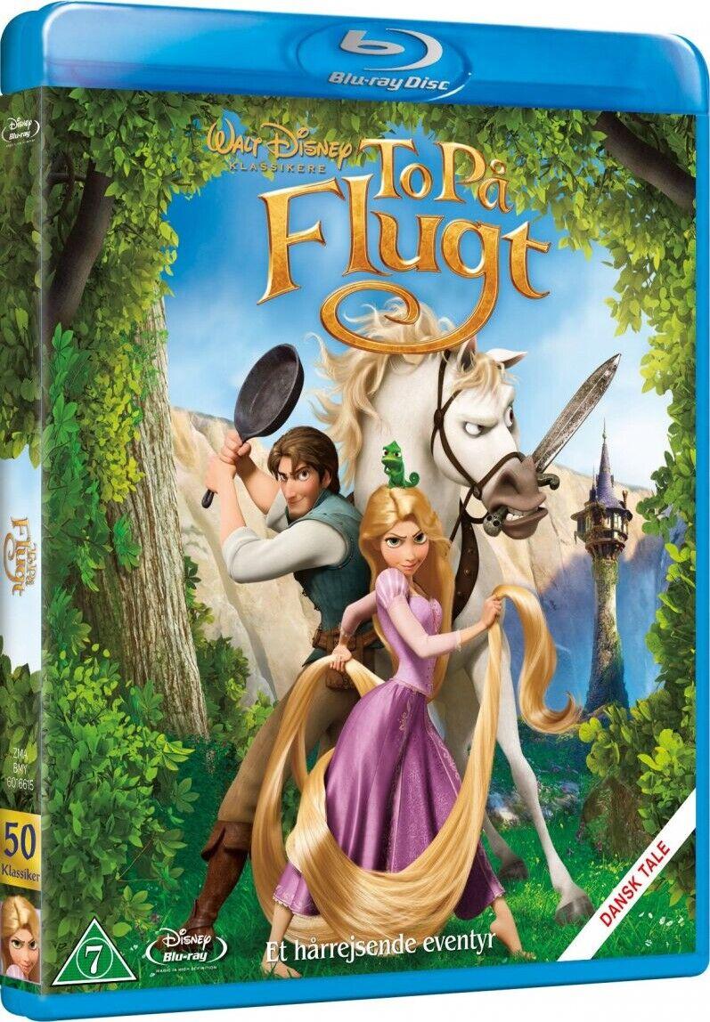 Disney To På Flugt / Tangled - Disney - Blu-Ray