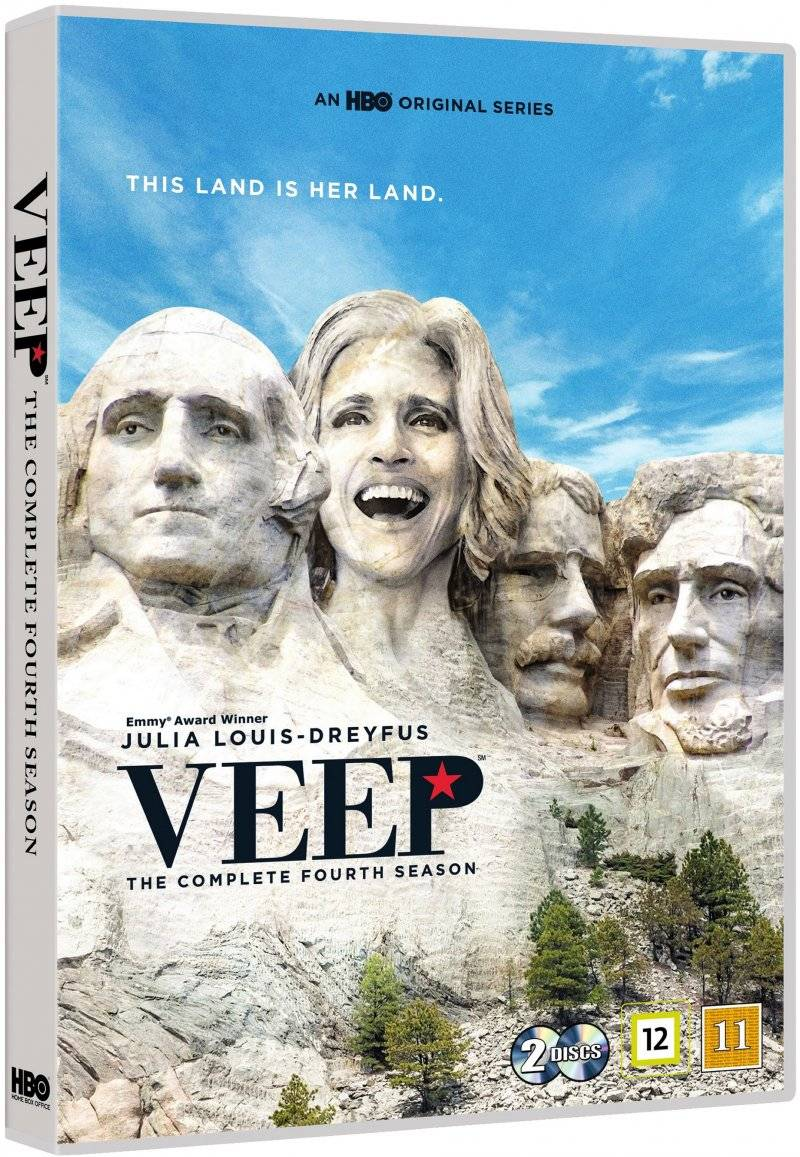 Veep - Sæson 4 - Hbo - DVD - Tv-serie