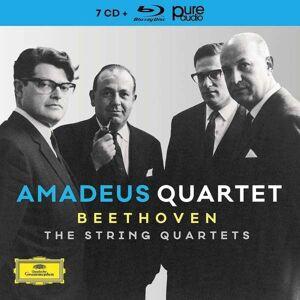 Amadeus Quartet - Beethoven: The String Quartets - Limited Edition (cd + Blu-ray) - CD