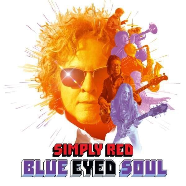 Simply Red - Blue Eyed Soul  - Vinyl / LP