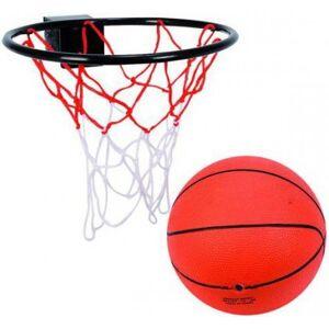 Basketbold Og Basketkurv Sæt