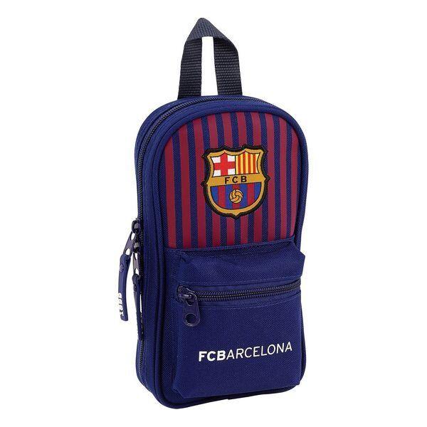 F.c. Barcelona - Penalhus Med Indhold - Blå Rød - 33 Dele