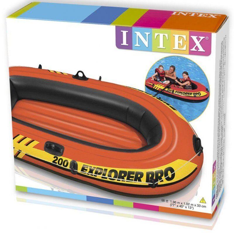 Intex Explorer Pro 200 - Gummibåd Uden Motor - 80 Kg