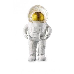 Snekugle Juledekoration - Summerglobe - Giant Astronaut - 30 Cm