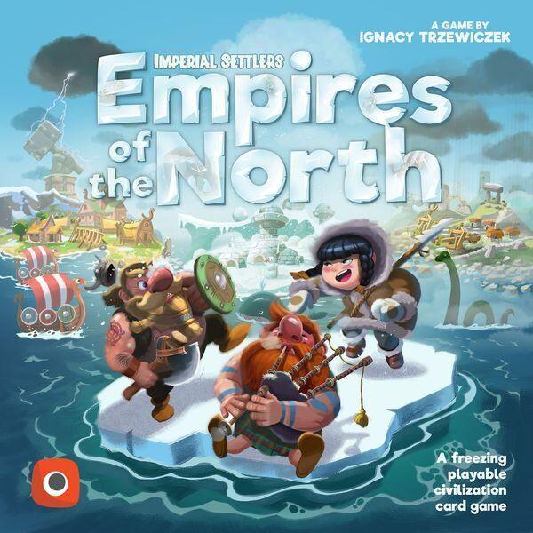 Imperial Settlers - Empires Of The North - Brætspil På Engelsk