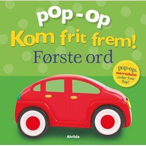 Pop-op - Kom Frit Frem - Første Ord - Clare Lloyd - Bog