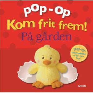Pop-op - Kom Frit Frem - På Gården - Clare Lloyd - Bog