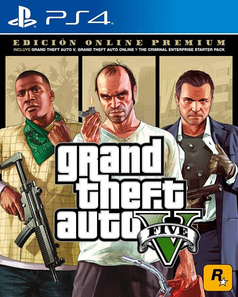 Grand Theft Auto V (gta 5) Premium Online Edition - PS4