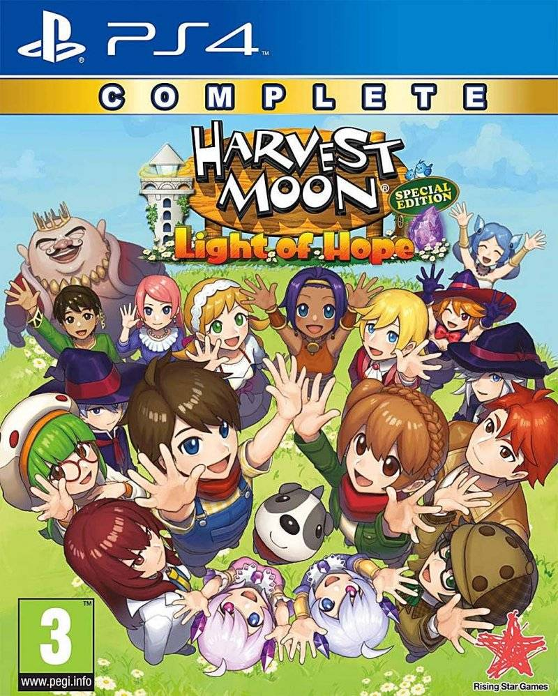Harvest Moon - Light Of Hope - Complete - Special Edition - PS4