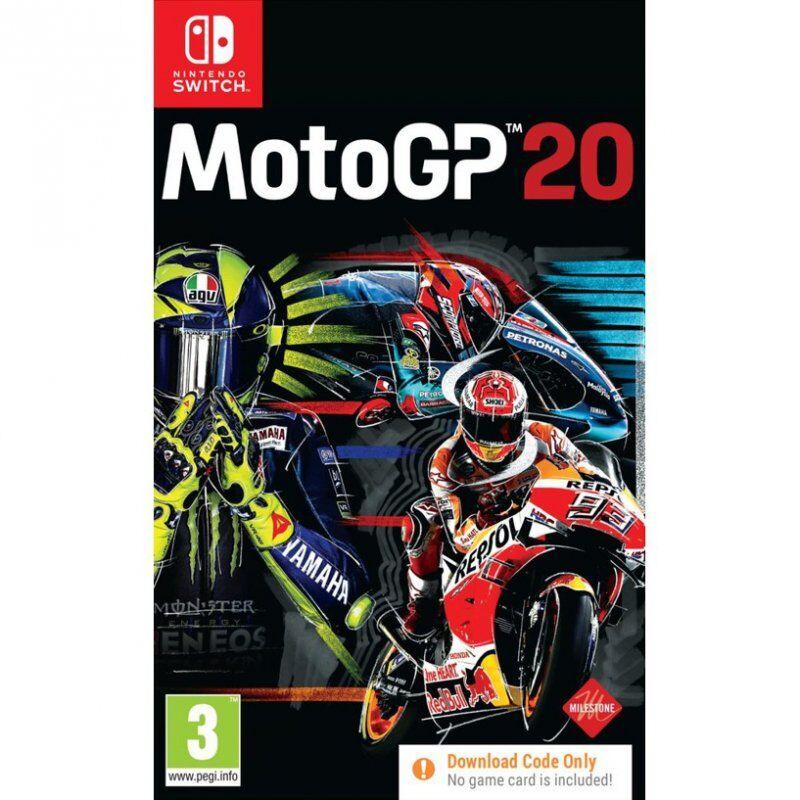 Motogp 20 (download Code Only) - Nintendo Switch