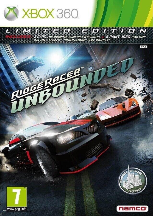 Microsoft Ridge Racer Unbounded - Xbox 360