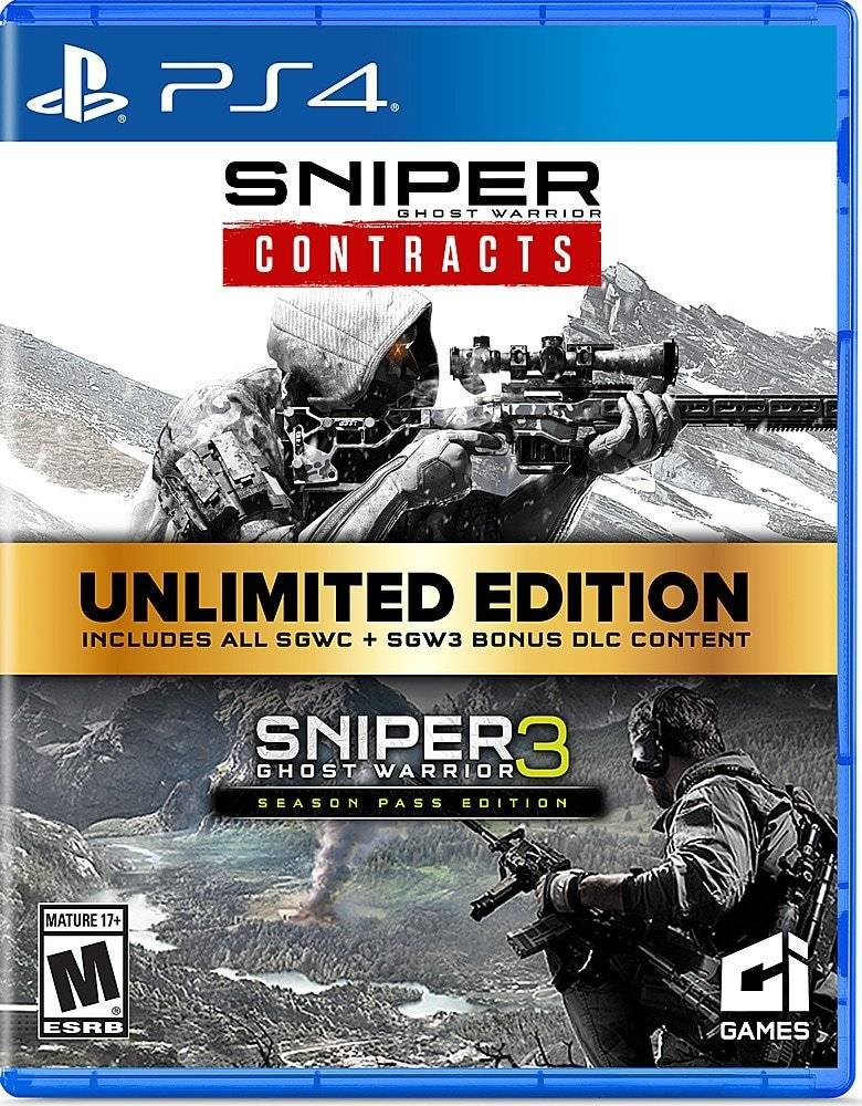 Sniper Ghost Warrior: Unlimited Edition - PS4