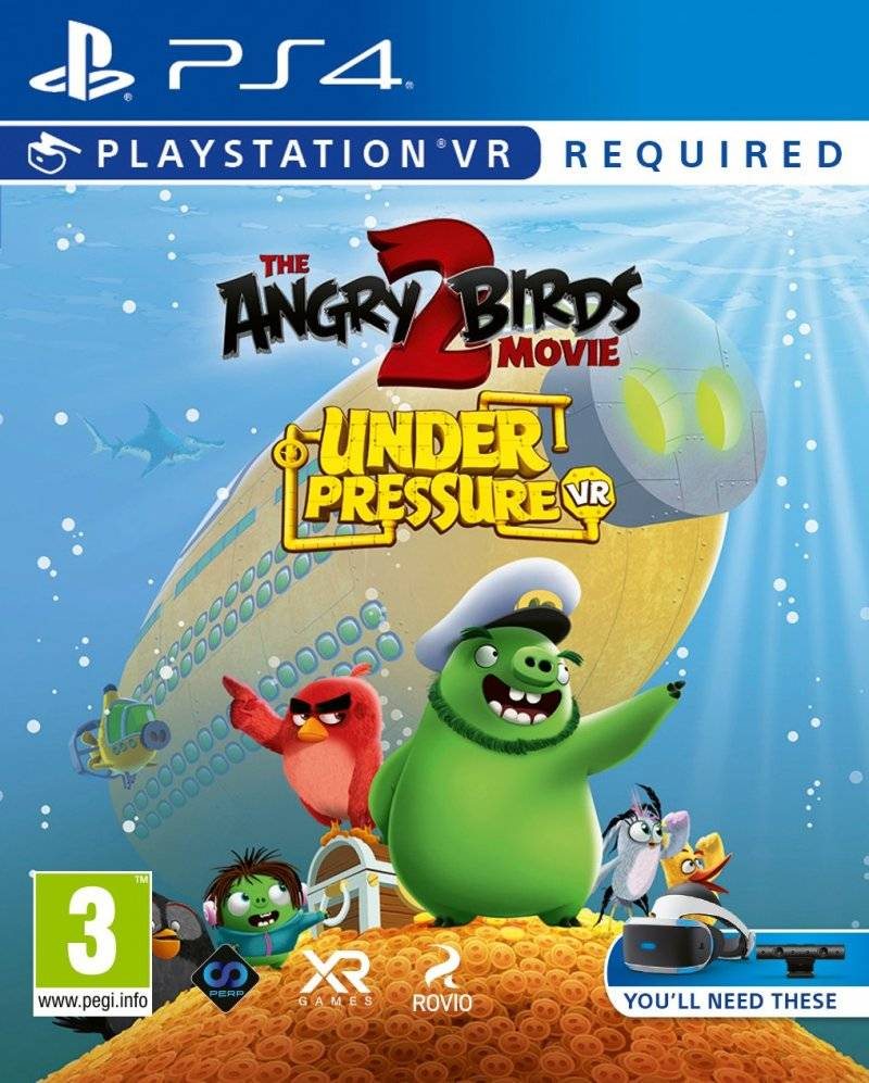The Angry Birds Movie 2 Vr: Under Pressure - PS4