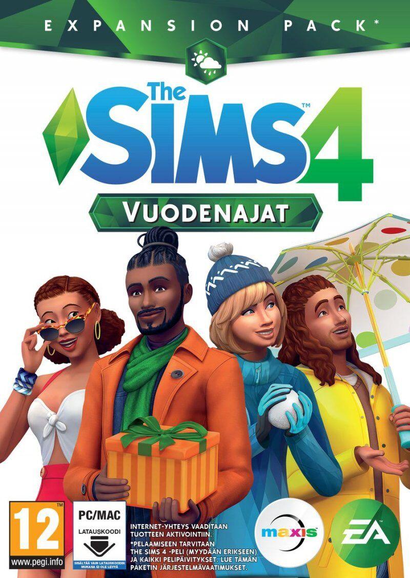 The Sims 4. Seasons - Vuodenajat (fin) - PC