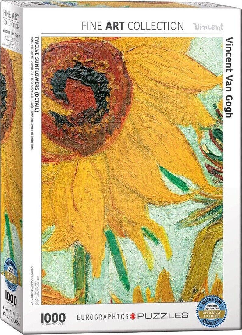 Van Gogh Puslespil - 1000 Brikker - Eurographics Puslespil