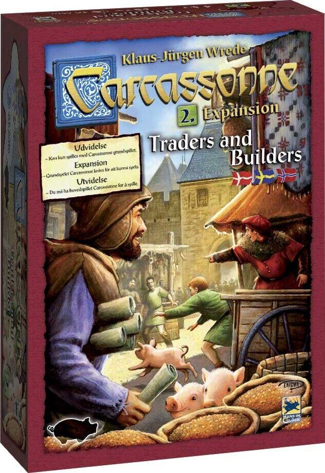 Carcassonne: Traders & Builders - Nordic - Brætspil