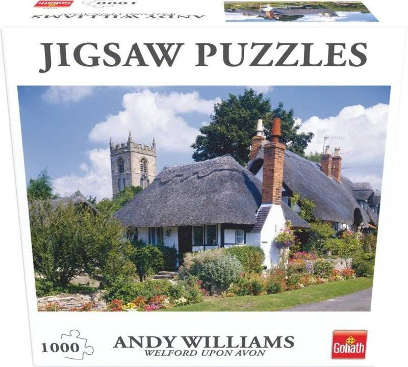 Jigsaw Puzzles - Puslespil Med 1000 Brikker - Welford Upon Avon
