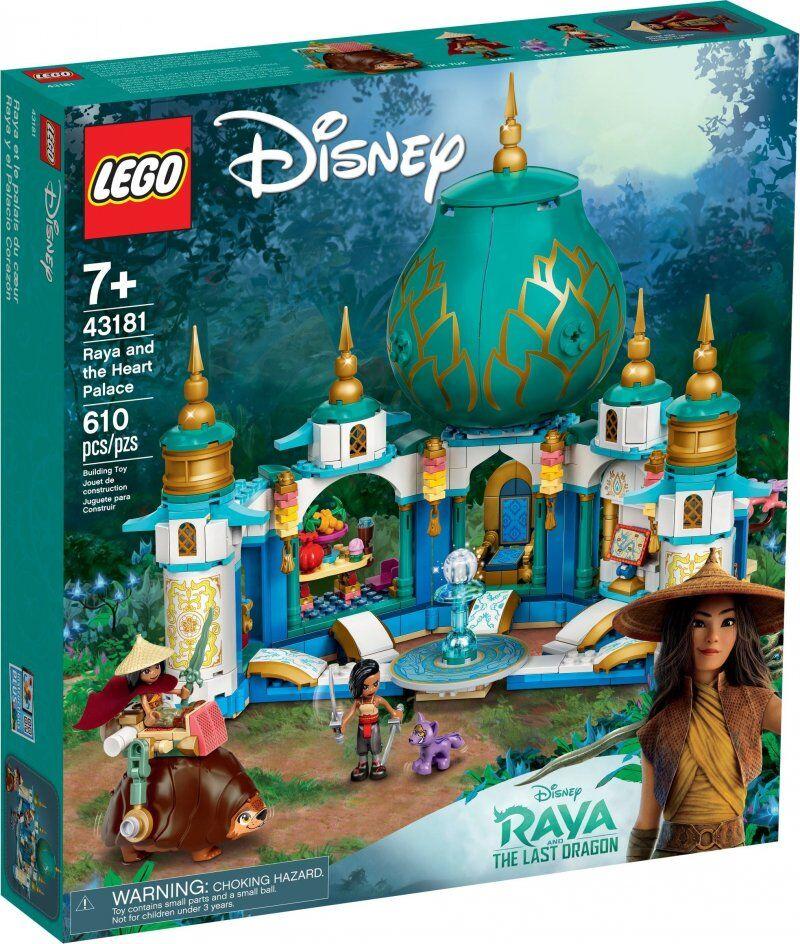 Lego Disney Princess - Raya Og Hjertepaladset - 43181