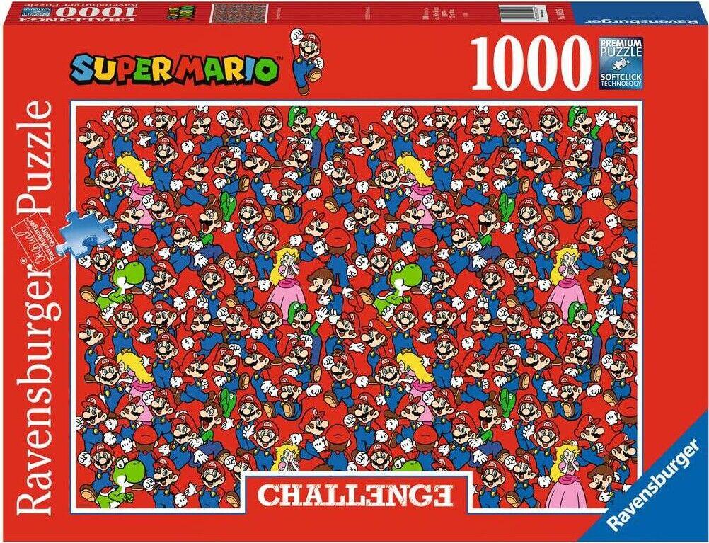 Super Mario Puslespil - 1000 Brikker - Ravensburger