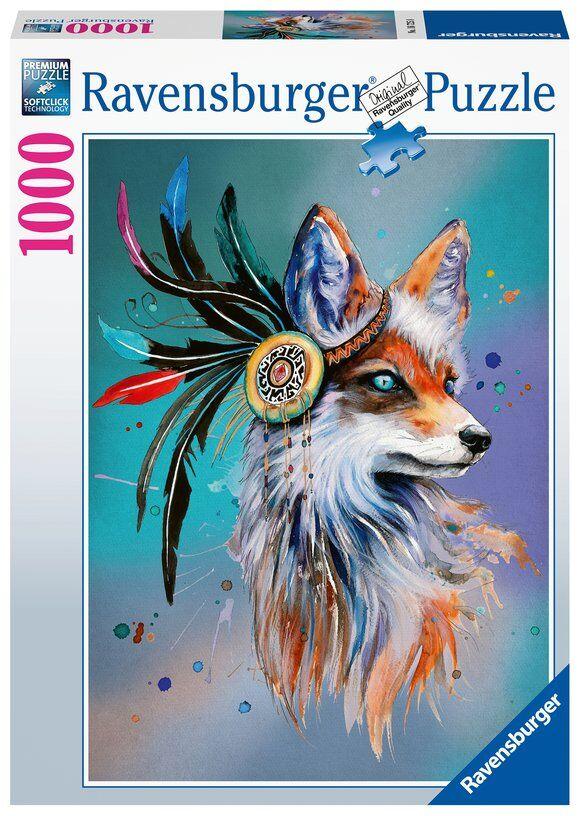 Ravensburger Puslespil - 1000 Brikker - Spirit Fox