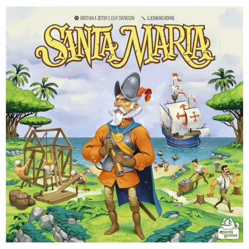 Santa Maria - Brætspil - Nordisk