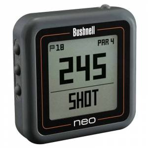 Bushnell NEO Ghost Golf Pocket Sized GPS Unit Charcoal