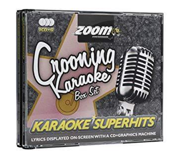 Zoom Crooning Superhits Triple karaoke-CD+G
