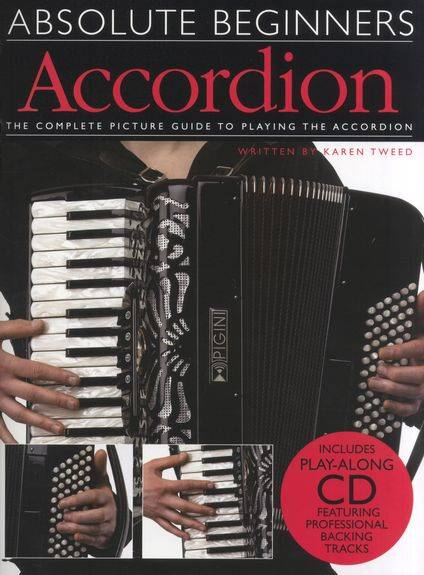 Absolute Beginners Accordion lærebog