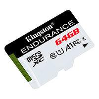 Micro SD kort 64GB (UHS-1 klasse 10) A1- Kingston Endurance