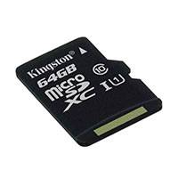 Micro SDXC Kort 64GB V10 A1 (UHS-I) Kingston Canvas Select