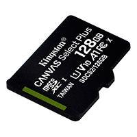 Micro SDXC Kort 128GB V10 A1 (UHS-I) Kingston Canvas Select