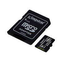 Micro SDXC Kort 128GB V10 A1 m/adapter (UHS-I) Kingston