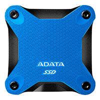 240GB Ekstern SSD harddisk (USB 3.1) Blå - Adata SD600Q