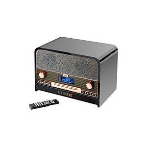 DAB+ radio m/Bluetooth (CD/USB) Sort - Technaxx TX-102