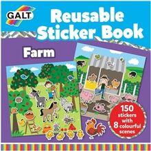 Galt Stickersbog Bondegård