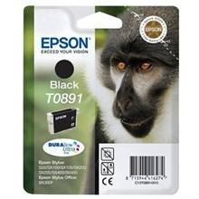 Epson T0891 BK (C13T08914011), Sort Blækpatron, 5,95 ml