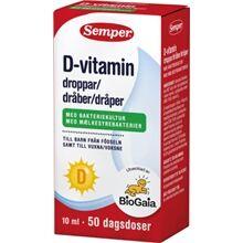 Semper D-vitamindroppar 50 dagsdoser 10 ml