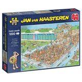 Jan Van Haasteren Puslespil 1000 Brikker Pool Pile-up