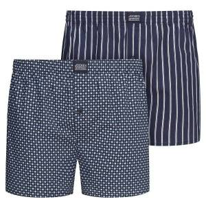 Jockey 2-pak Woven Boxer Shorts 3XL-6XL - Navy-2 * Kampagne *