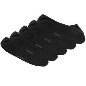 Resteröds 5-pak Bamboo Invisible Socks - Black * Kampagne *