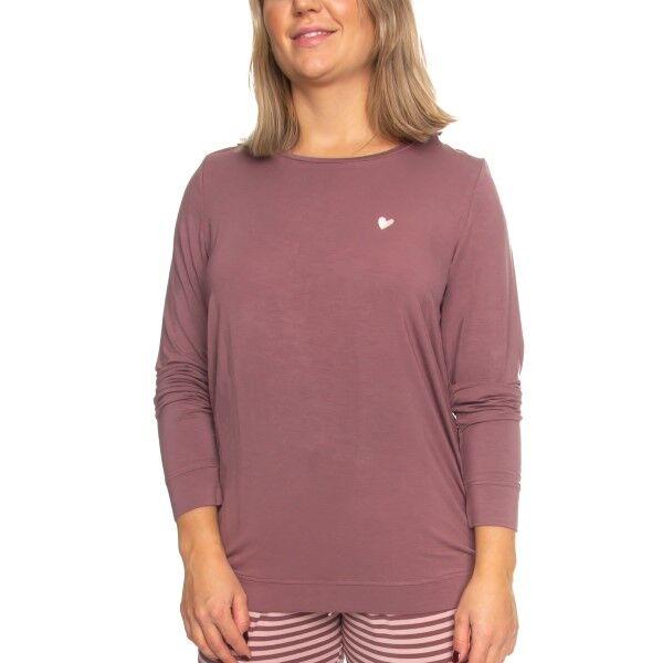 Missya Softness Modal Long Sleeve Shirt - Ancientpink * Kampagne *
