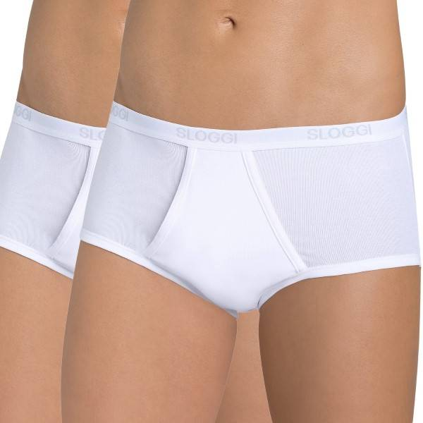 Sloggi 2-pak For Men Basic Maxis - White * Kampagne *