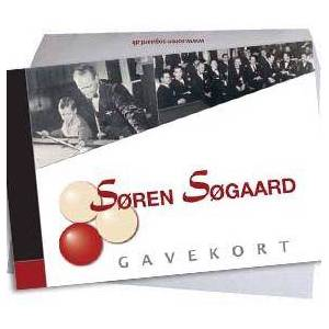 Kr. 1.500,- gavekort t/ Søren Søgaard A/S