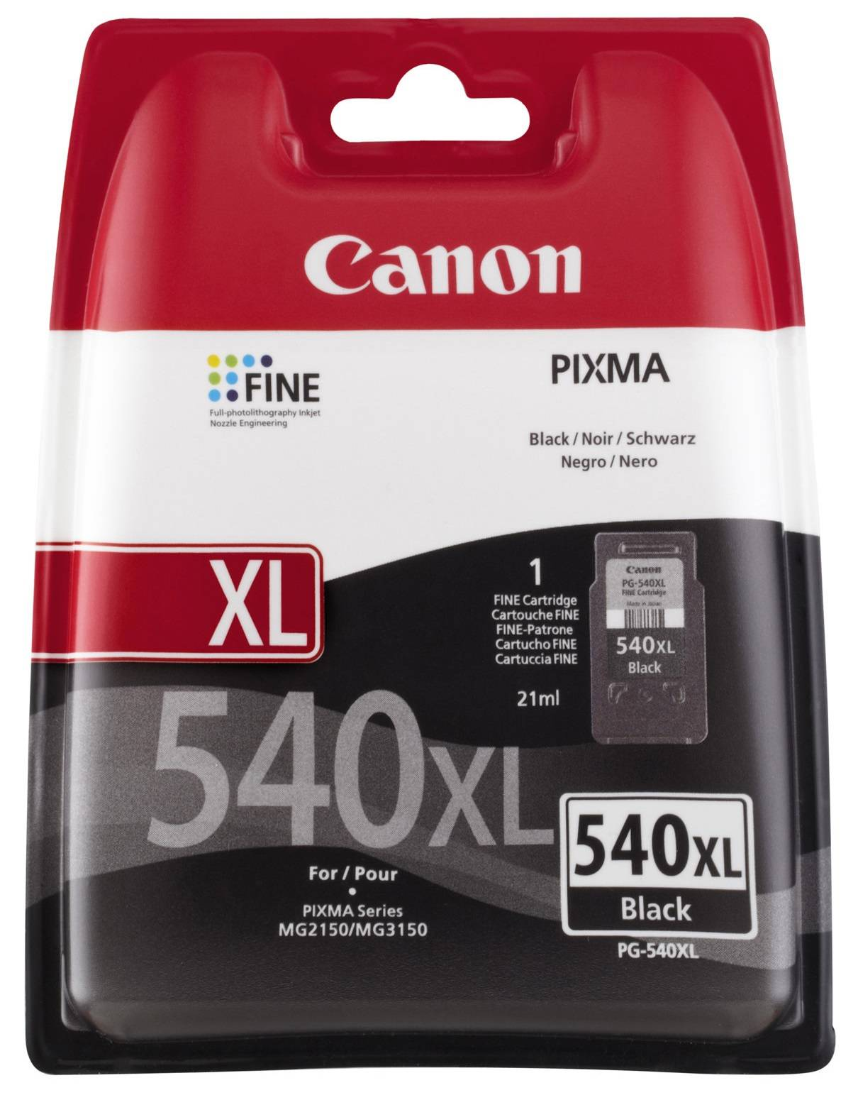 Canon PG 540 XL BK (5222B005) sort blækpatron,