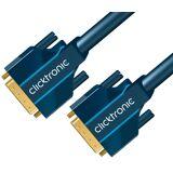ClickTronic Dvi-D Dual Link Kabel - 5 M