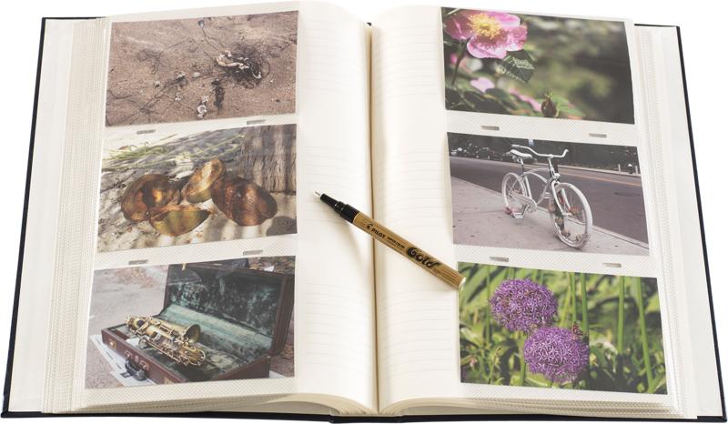 Focus Fotoalbum Classic Line - 300 Billeder - 10x15 - Rød